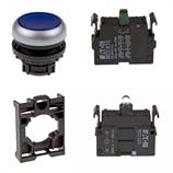 Set article illuminated pushbutton Eaton M22-DL-B/-A/-LED-B/-K10
