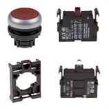Set article illuminated pushbutton Eaton M22-DL-R-X0/-A/-LED230-R/-K01