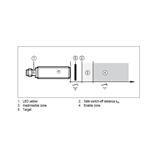Safety inductive sensor ifm electronic GG854S - GIGK4008-2PO/SIL2/US