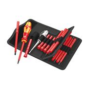 Screwdriver set with interchangeable blades Wera Kraftform Kompakt VDE 18 Universal 1 - 05003471001