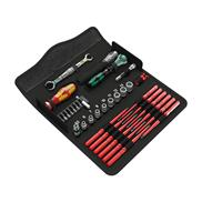 Screwdriver set with interchangeable blades Wera Kraftform Kompakt W1 Wartung - 05135926001