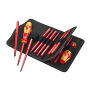 Screwdriver set with interchangeable blades Wera Kraftform Kompakt VDE 18 Imperial 1 - 05347108001