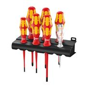 Screwdriver set Wera Kraftform Plus Serie 100 160iS/7 Rack - 05006480001