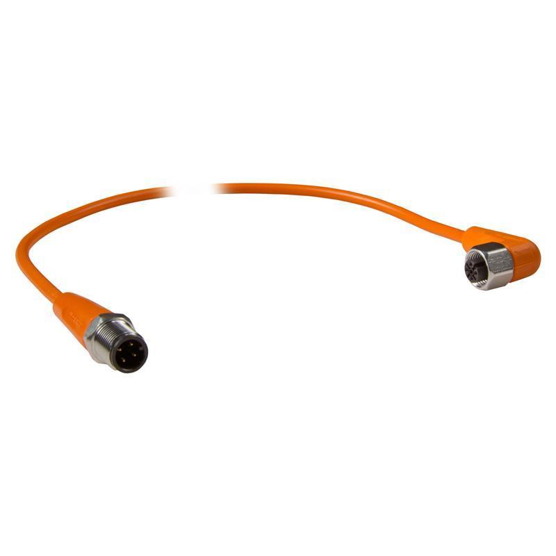 M12 Connection cable ifm electronic EVT047