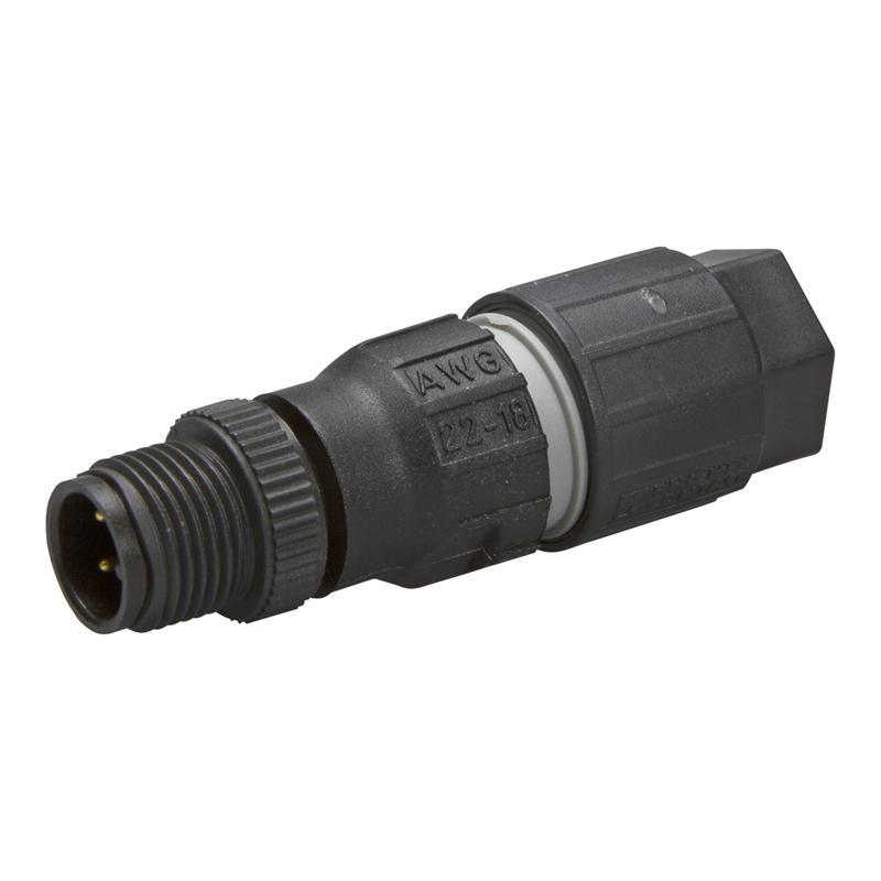 M12 connector PHOENIX 1641769 - SACC-M12MS-4QO-0,75