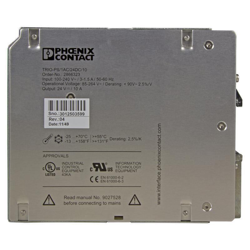 Power supply unit PHOENIX 2866323 - TRIO-PS/ 1AC/24DC/10