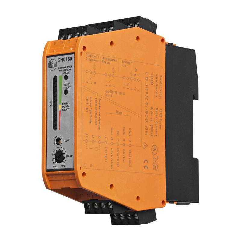 Control monitor for flow sensors ifm electronic SR0150