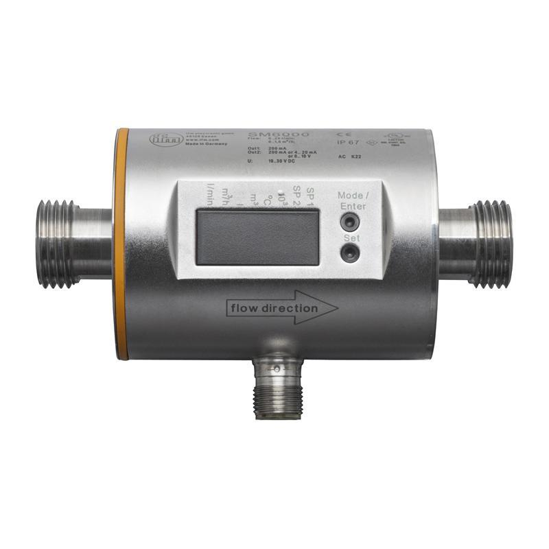 Magnetic-inductive flow meter ifm electronic SM6000