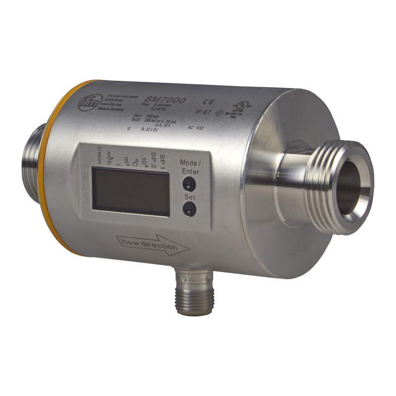 Magnetic-inductive flow meter ifm electronic SM7000