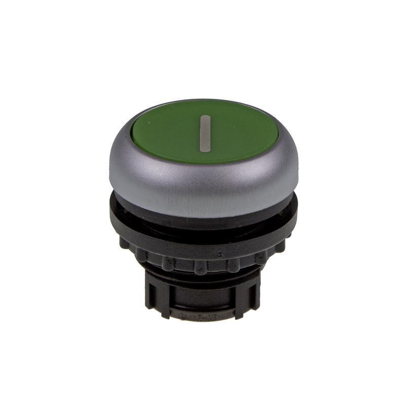 Pushbutton Eaton 216607 - M22-D-G-X1