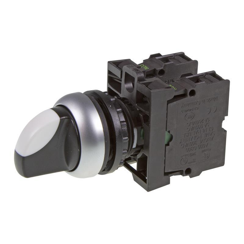 Selector switch complete device Eaton 216520 - M22-WRK3/K20