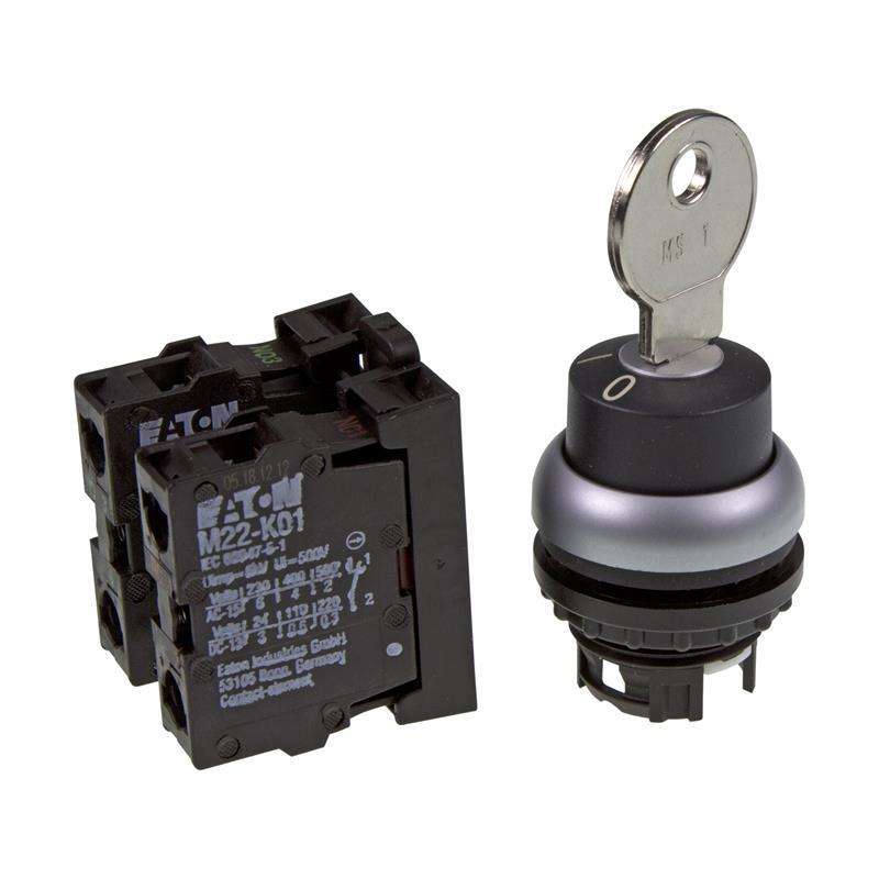 Key-operated switch Eaton 216517 - M22-WRS/K11 | Automation24