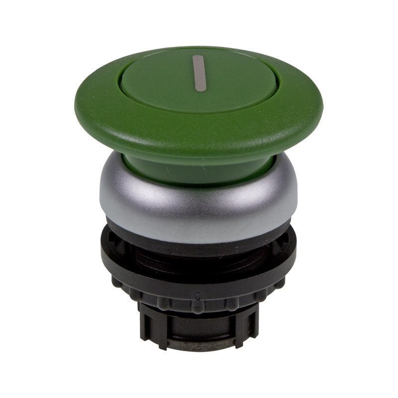 Mushroom-headed pushbutton Eaton 216722 - M22-DP-G-X1