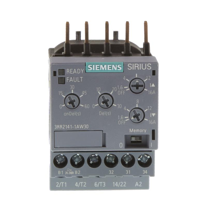 Current monitoring relay Siemens SIRIUS 3RR2141-1AW30