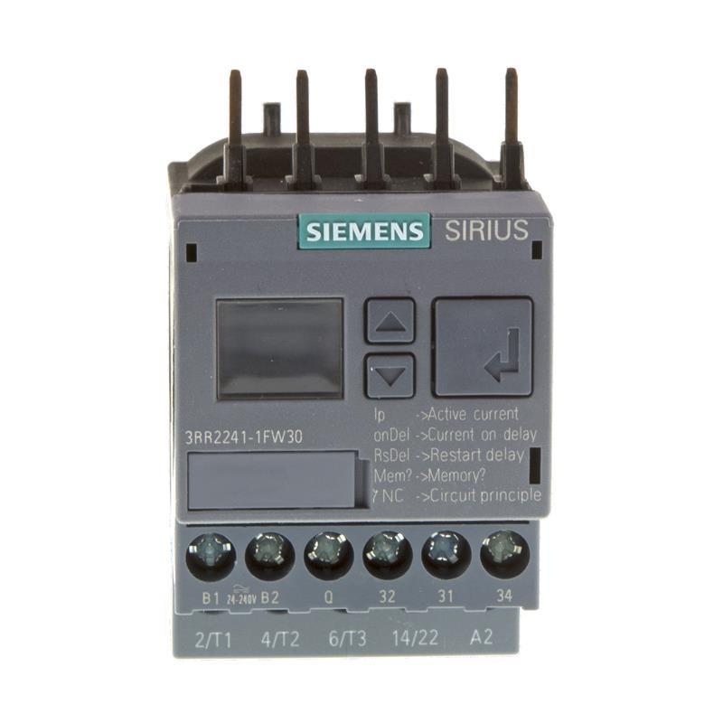Current monitoring relay Siemens SIRIUS 3RR2241-1FW30