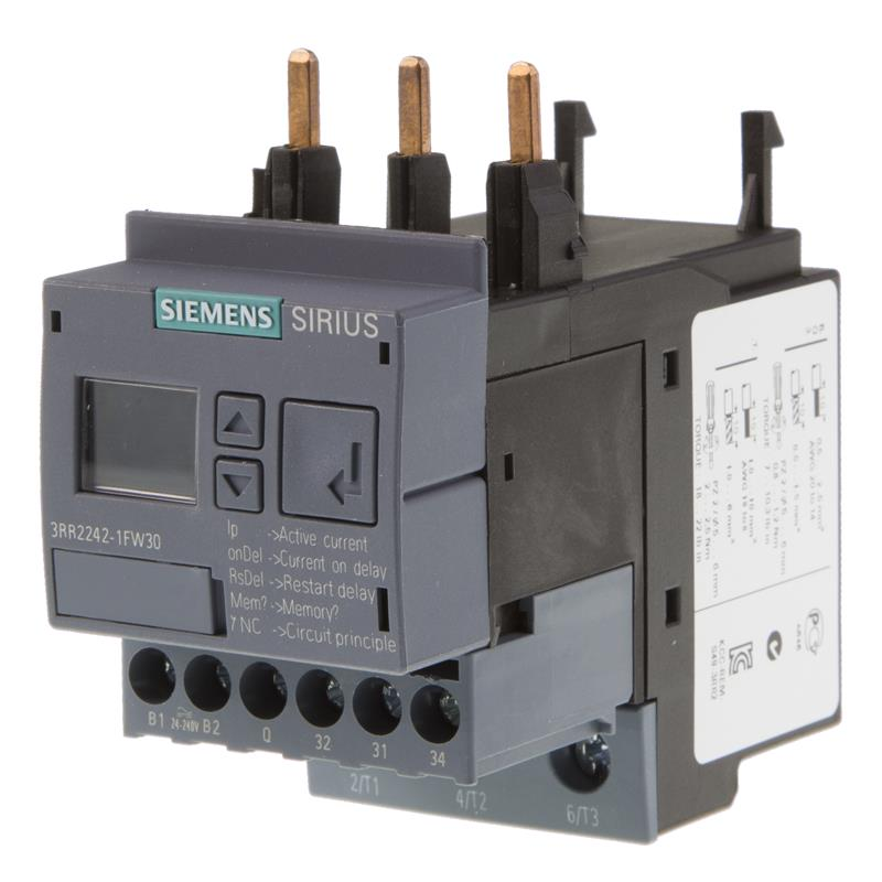 Current monitoring relay Siemens SIRIUS 3RR2242-1FW30