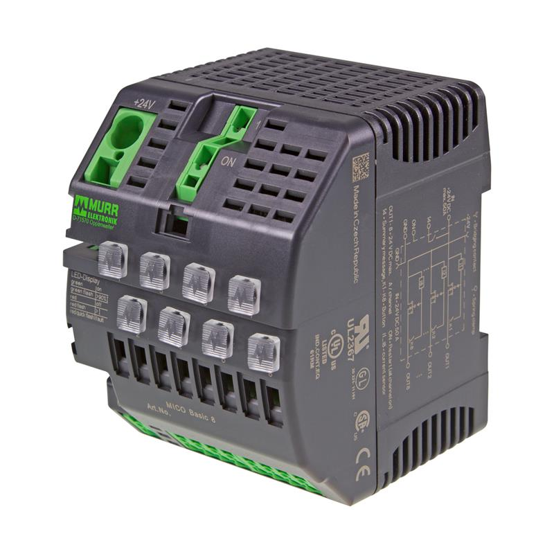 Electronic load circuit breaker Murrelektronik MICO BASIC 8.4 - 9000-41068-0400000