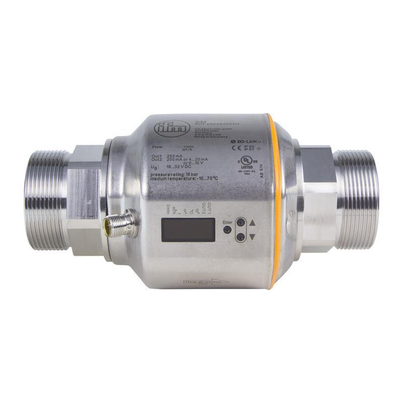 Electronic Flow Meter : Magnetic inductive flow meter ifm electronic sm