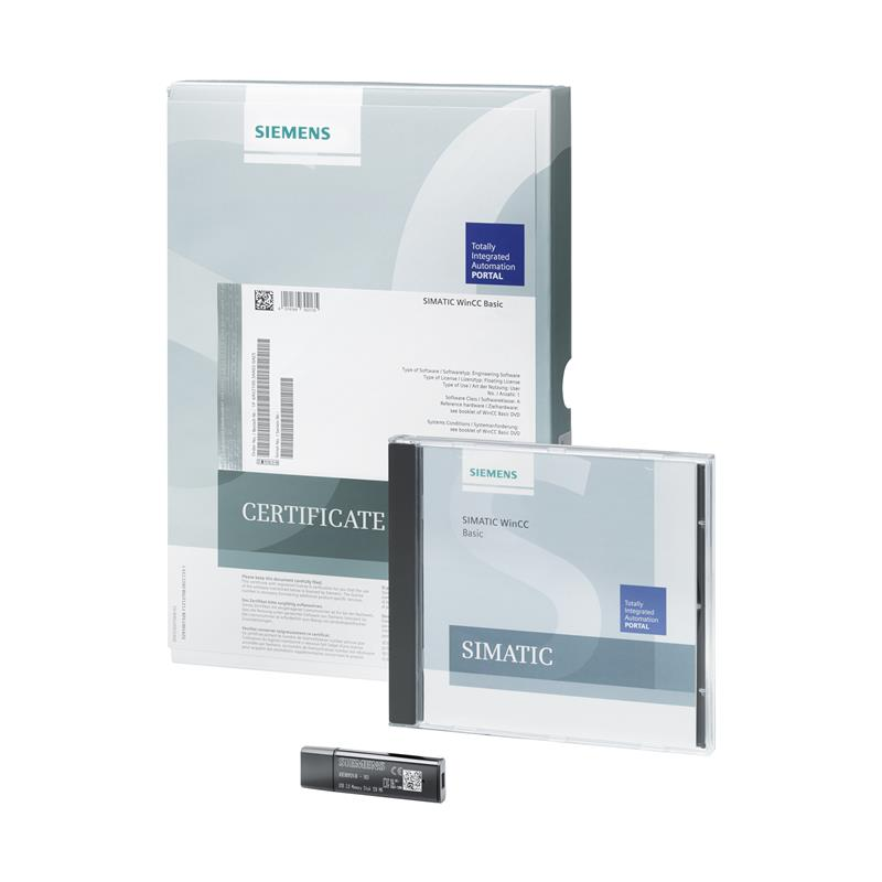 Siemens SIMATIC WinCC Basic V15, Upgrade - 6AV2100-3AA05-0AE5
