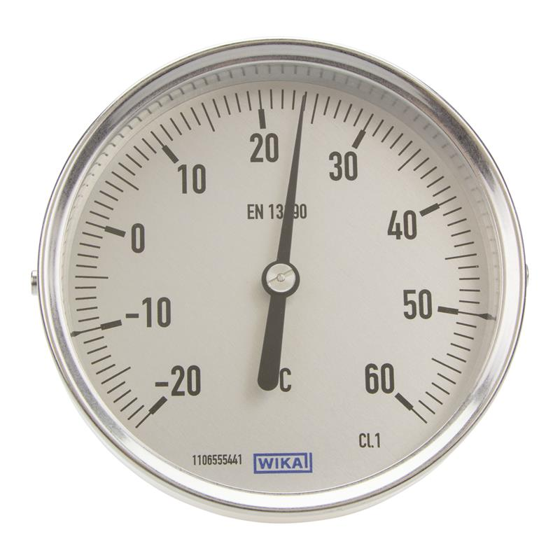 Bimetall-Thermometer WIKA A52.100 - 3906868
