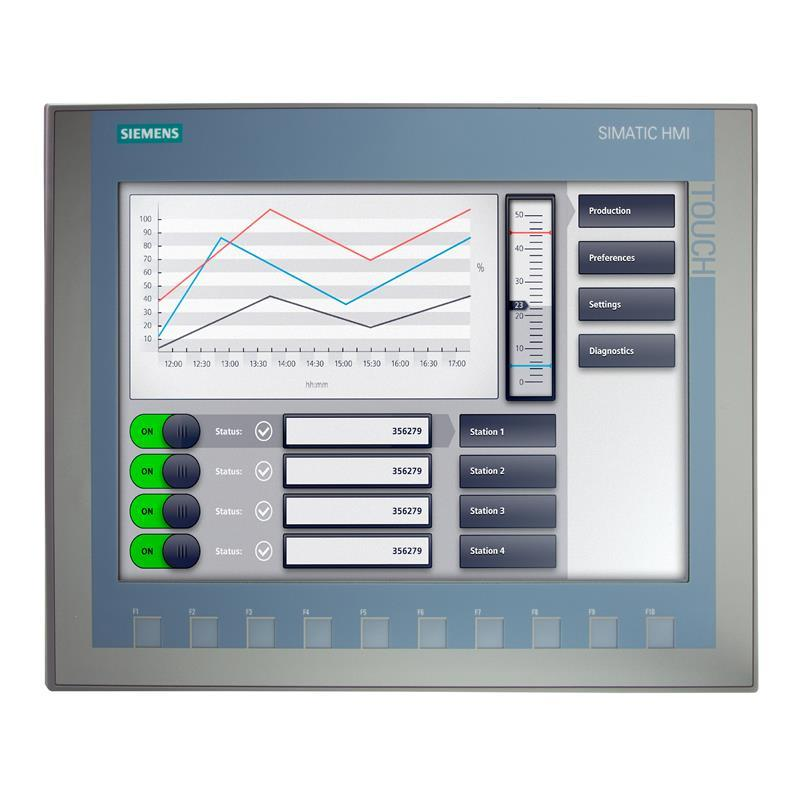 SIMATIC Basic Panel Siemens KTP1200 Basic DP - 6AV2123-2MA03-0AX0