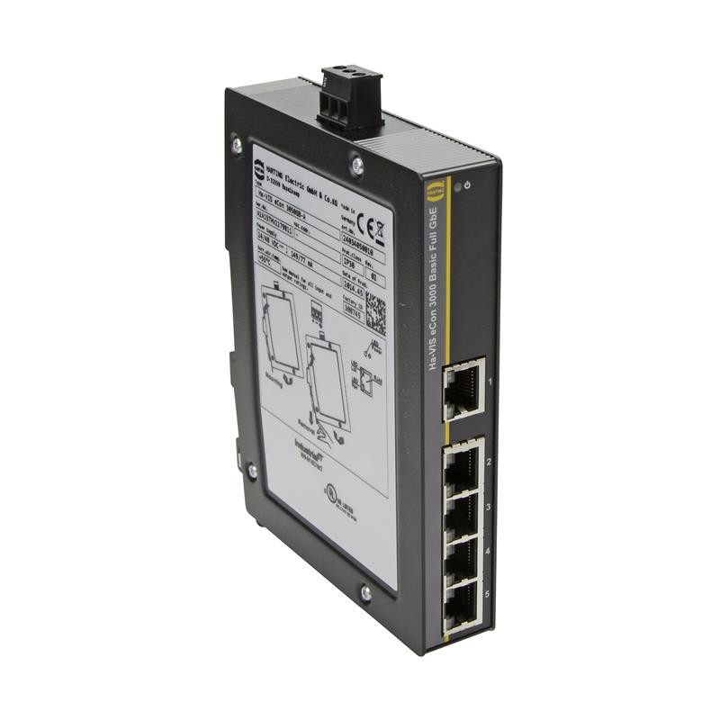 Full Gigabit Ethernet-switch HARTING Ha-VIS eCon 3050GB-A
