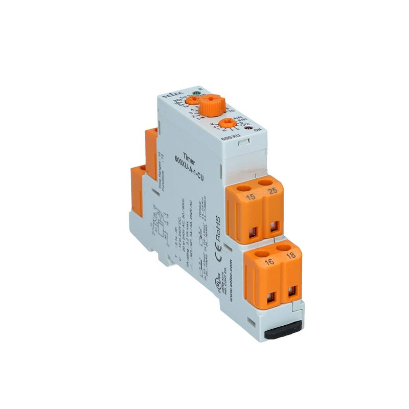 Multifunction timer relay Selec 600XU-A-1-CU