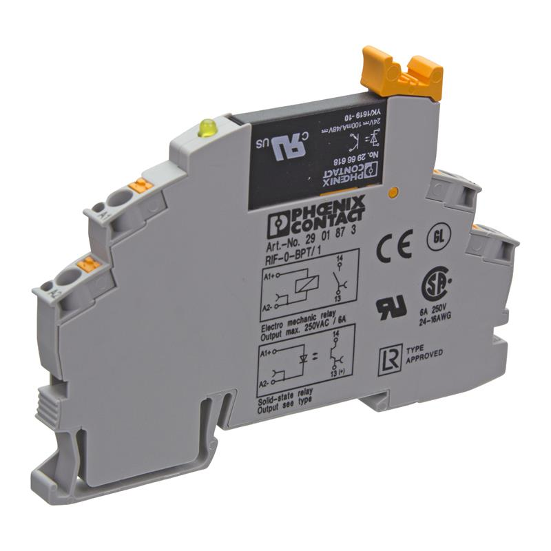 Solid-state coupling relay PHOENIX 2905294 - RIF-0-OPT-24DC/48DC/100
