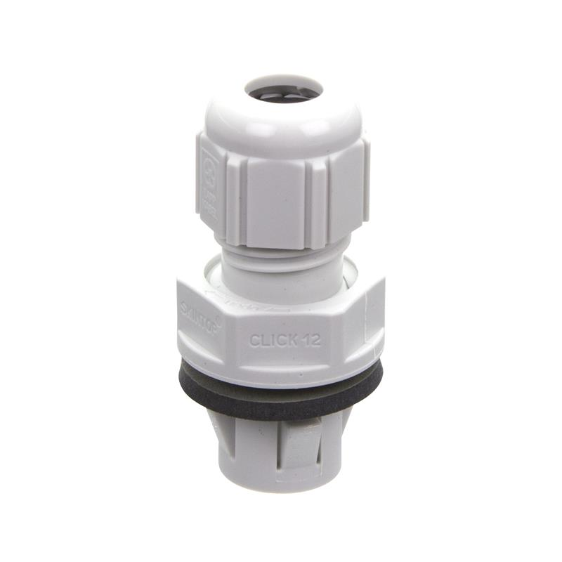 Cable gland LAPP SKINTOP CLICK 12 RAL 7035 LGY - 53112692