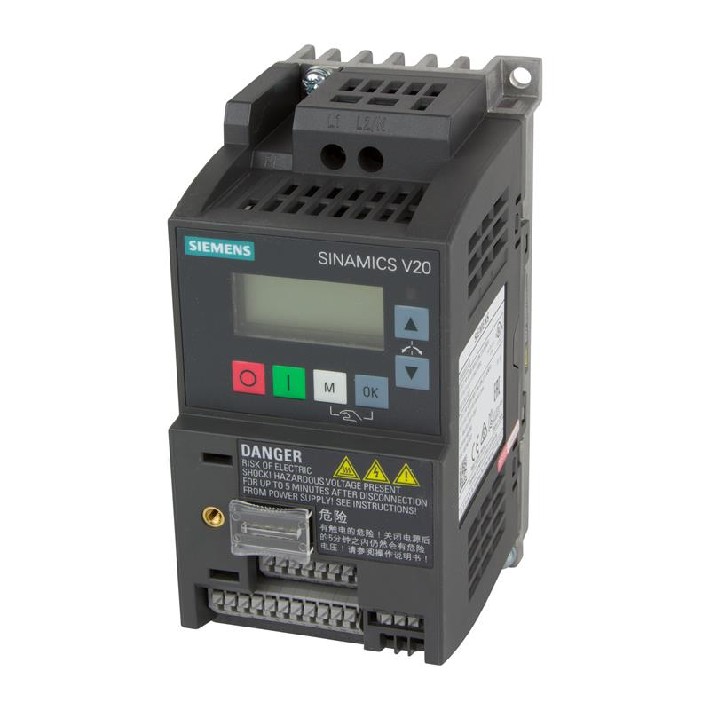Variable frequency drive Siemens SINAMICS V20 - 6SL3210-5BB11-2BV1