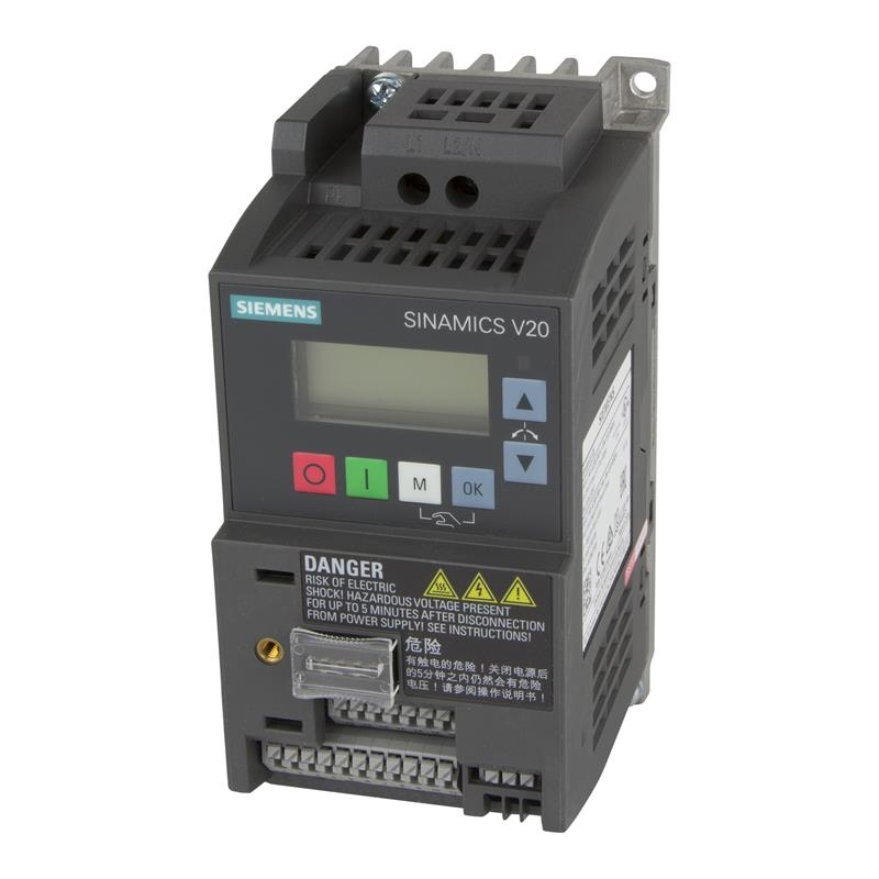 Variable frequency drive Siemens SINAMICS V20 - 6SL3210-5BB12-5BV1