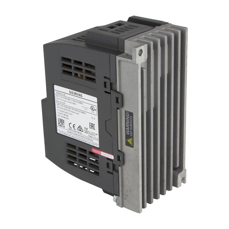 Variable frequency drive Siemens SINAMICS V20 - 6SL3210-5BB13-7BV1