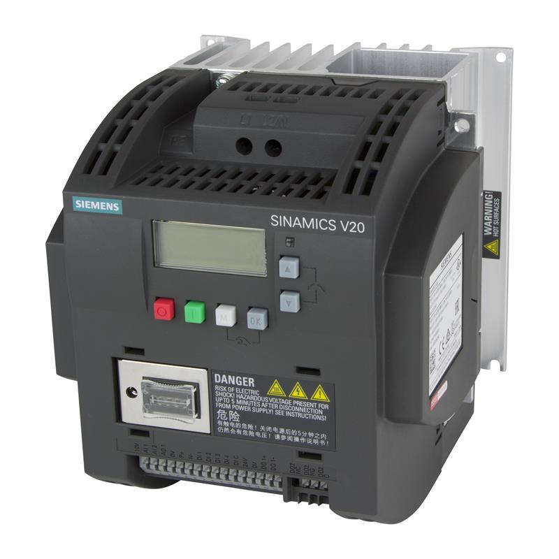 Variable frequency drive Siemens SINAMICS V20 - 6SL3210-5BB21-5AV0