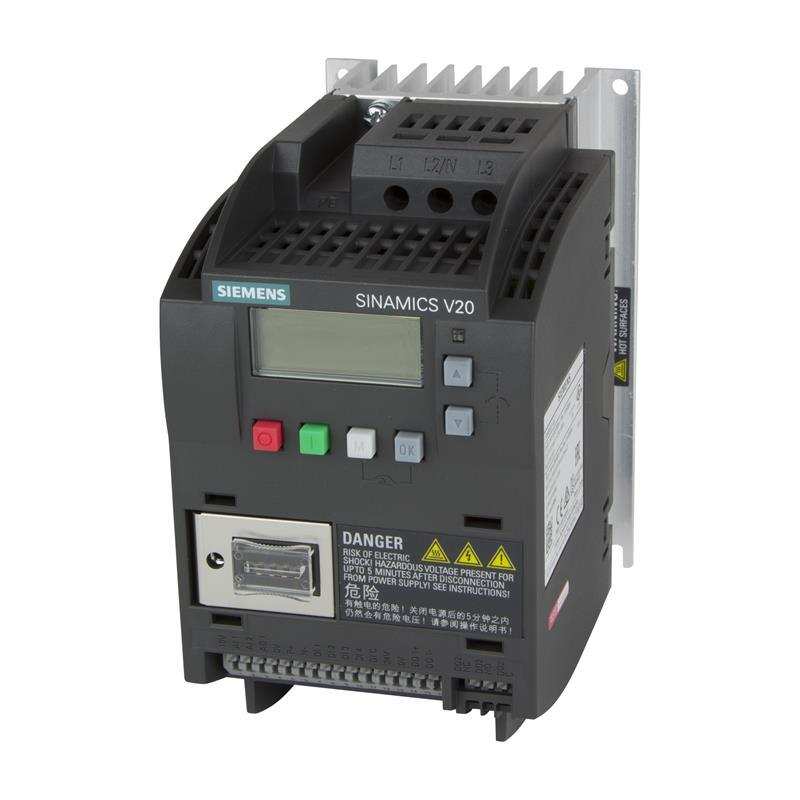Variable frequency drive Siemens SINAMICS V20 - 6SL3210-5BE13-7CV0