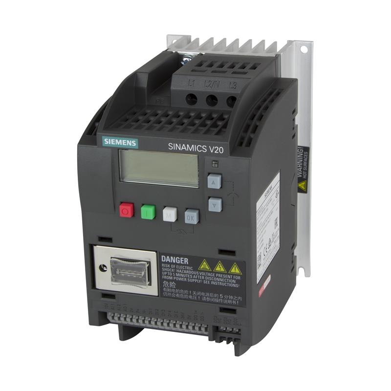 Variable frequency drive Siemens SINAMICS V20 - 6SL3210-5BE17-5CV0