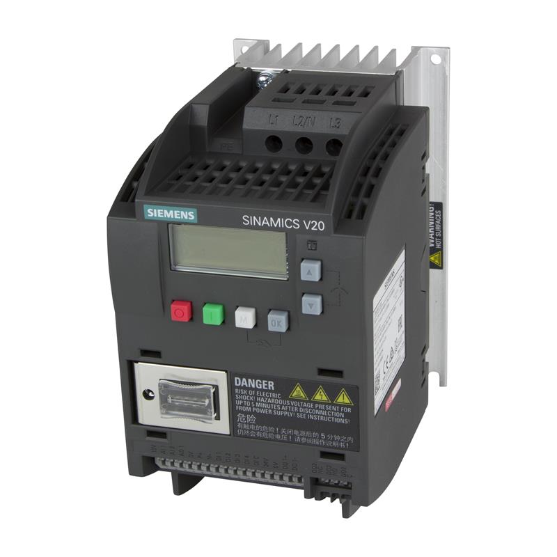 Variable frequency drive Siemens SINAMICS V20 - 6SL3210-5BE21-5CV0