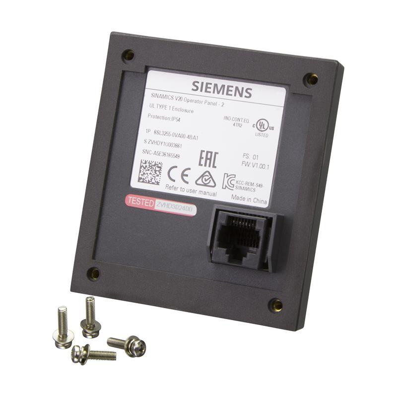 BOP-interface Siemens SINAMICS V20 - 6SL3255-0VA00-4BA1