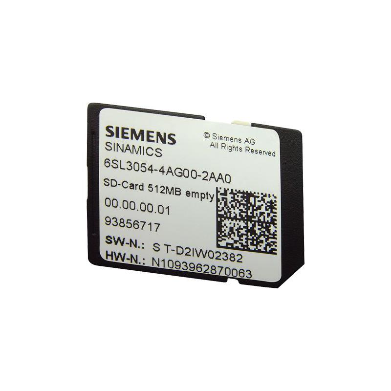 SD-Card Siemens SINAMICS - 6SL3054-4AG00-2AA0