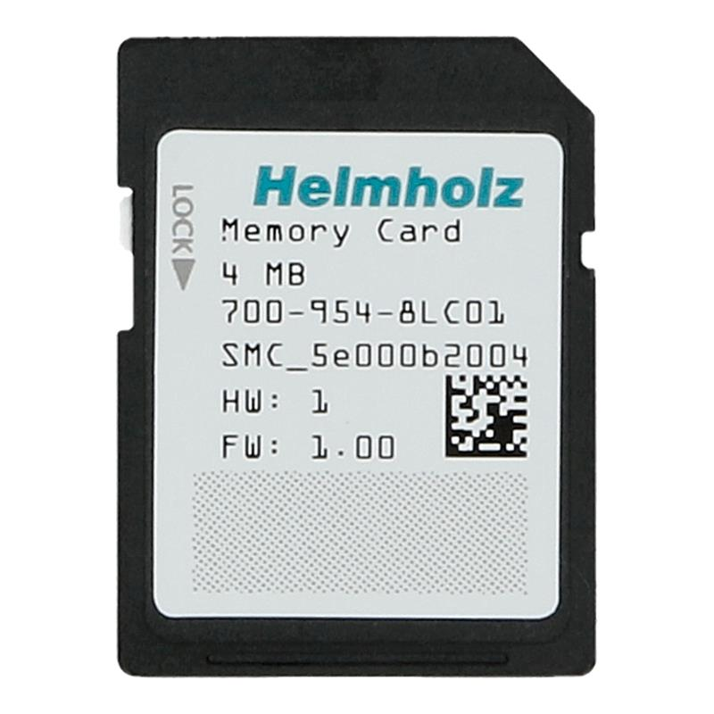 Helmholz S7-1200/1500 Memory Card 4MB - 700-954-8LC01