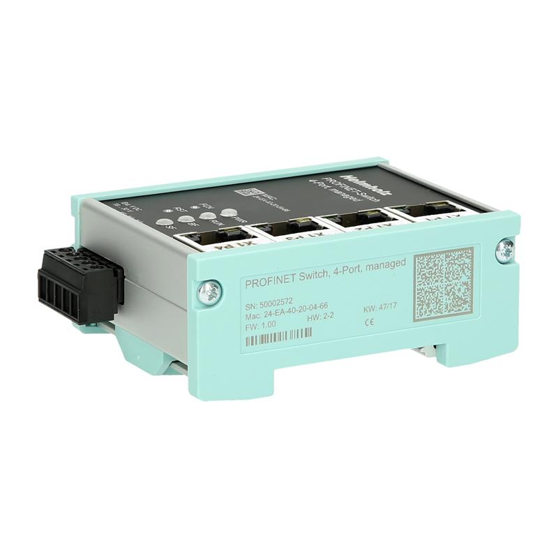 Beheerde PROFINET-switch, 4-poorts Helmholz 700-850-4PS01