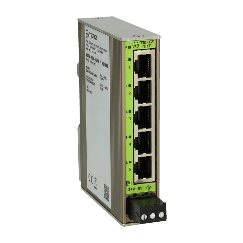 Switch ethernet non gestito TERZ NITE-RS5-1100 - 211400