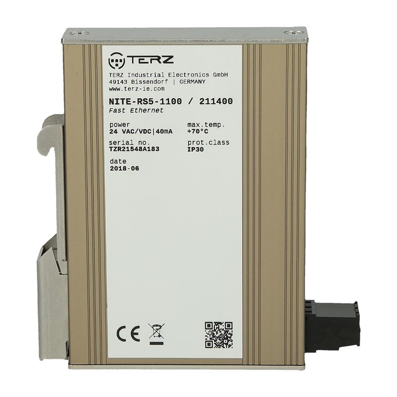 Switch Ethernet no administrado TERZ NITE-RS5-1100 - 211400