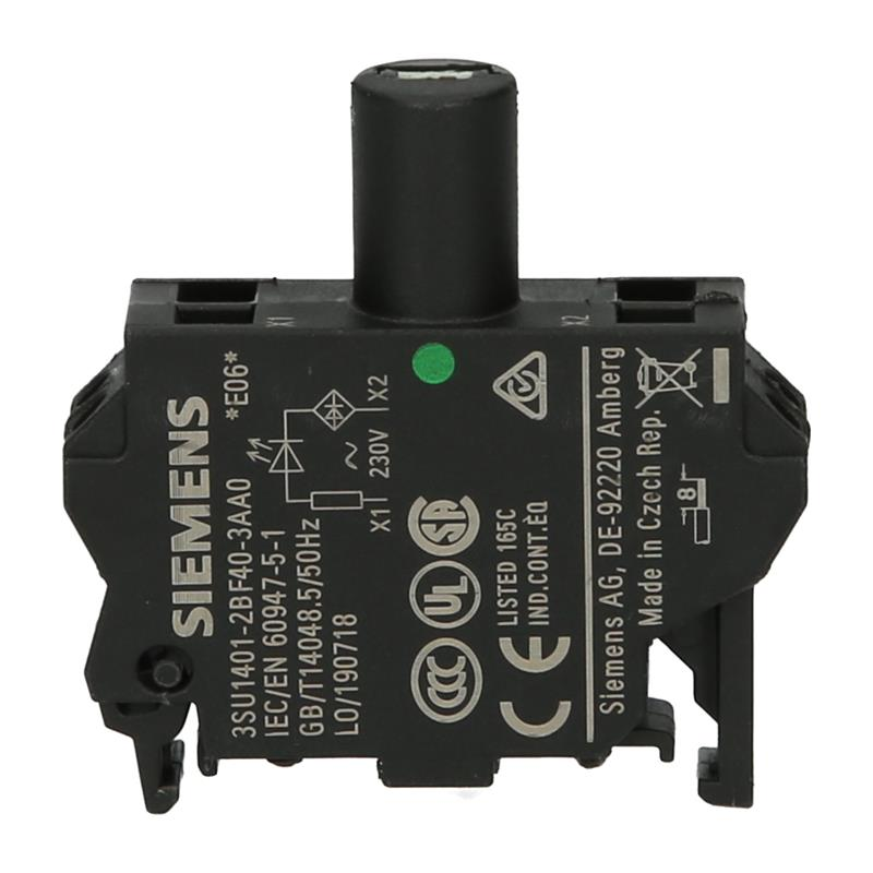 LED-Element Siemens SIRIUS ACT 3SU1401-2BF40-3AA0