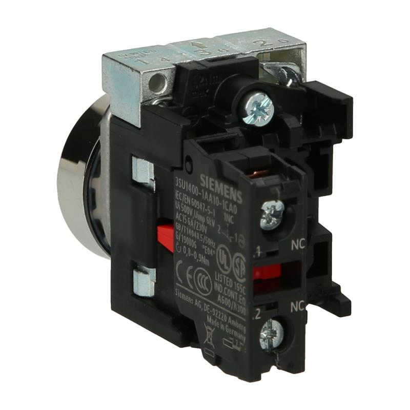 Pushbutton complete device Siemens SIRIUS ACT 3SU1150-0AB20-1CA0