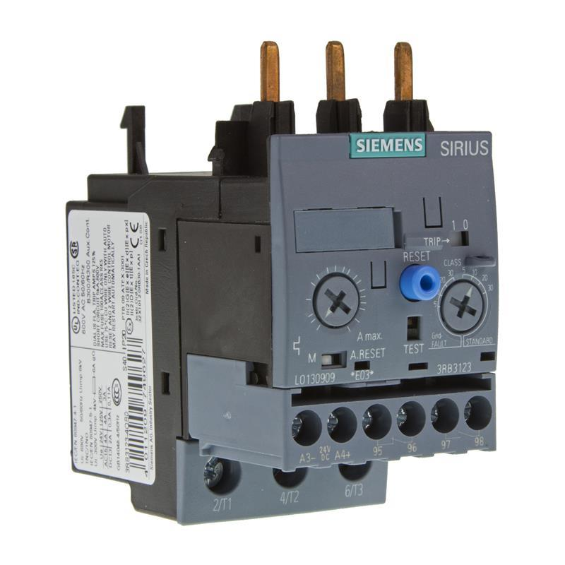 Overload relay siemens sirius 3rb3123 4vb0 automation24 Motor overload relay