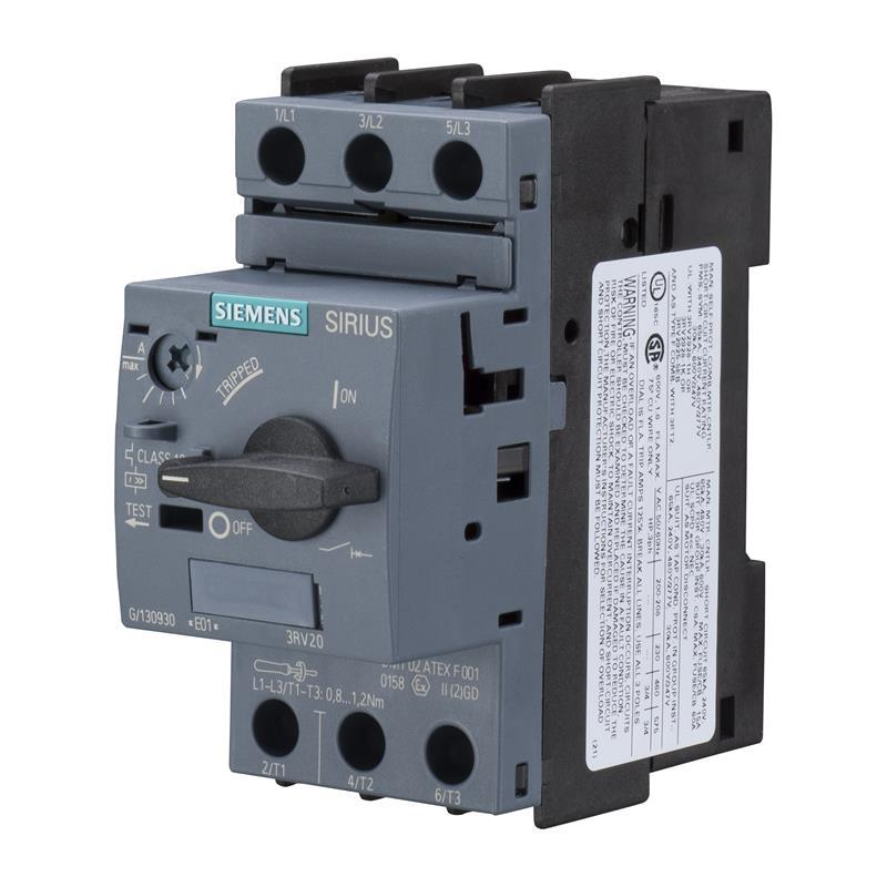 Circuit breaker siemens sirius 3rv2011 1ha10 automation24 for Motor operated circuit breaker
