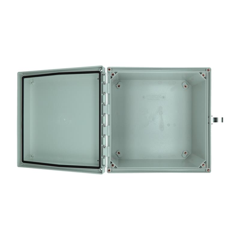 Wall mounted enclosure FIBOX ARCA AR10106CHSSL