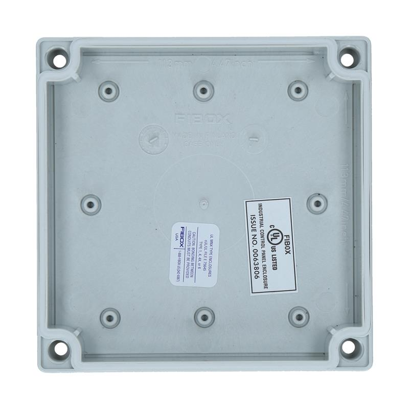 Polycarbonate Enclosure FIBOX MNX UL PC 125/35 LG - 6412307