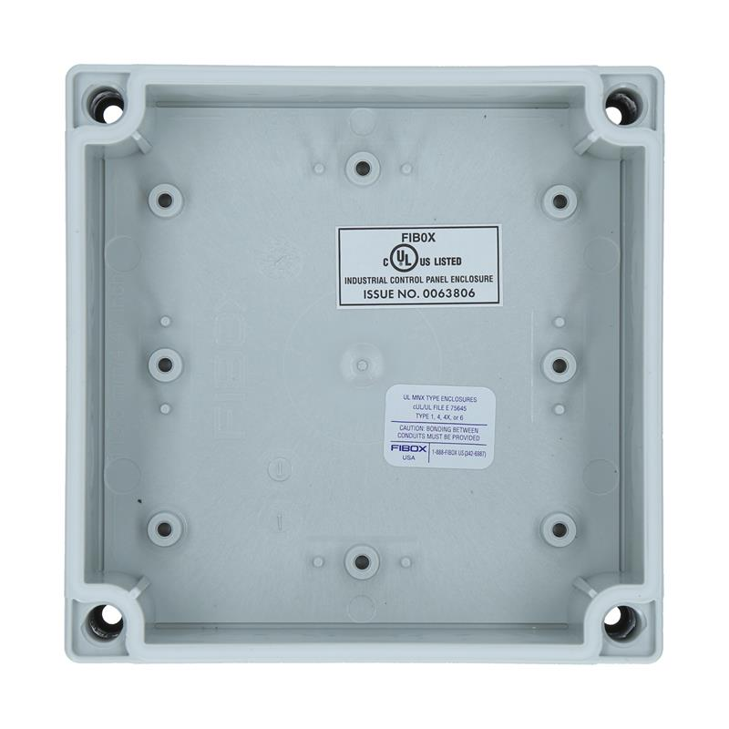 Polycarbonate Enclosure FIBOX MNX UL PCM 125/100 G - 6416309