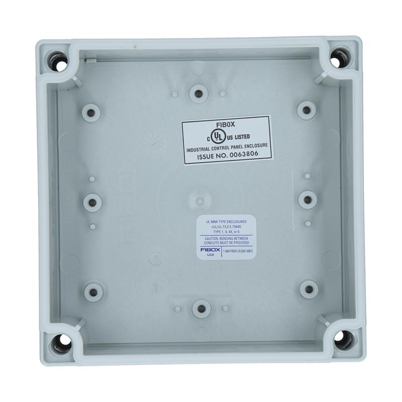 Polycarbonate Enclosure FIBOX MNX UL PCM 125/75 G - 6016308